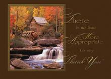 #3149<br>Autumnal SerenityThanksgiving Thank You Card