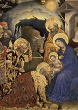 #4060<br>Adoration of the Magi by Gentile da Fabriano