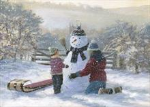 #5087<br>Snow JoyClassic Christmas Card