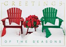 #5918<br>&#39;Tis the SeasonSeason&#39;s Greetings Holiday Card