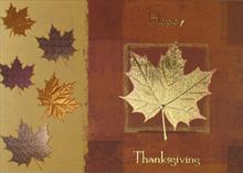#1315<br>Thanksgiving ShimmerThanksgiving Greeting Card