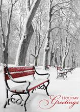 #6309<br>Scenic SerenityHoliday Snow Scene Card