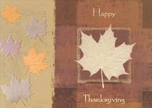 #6610<br>Thanksgiving ShimmerThanksgiving Holiday Card