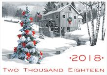 2018 Snowy Mill Calendar Greetings