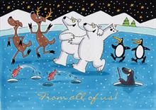 #2670<br>Dancing Polar Friends