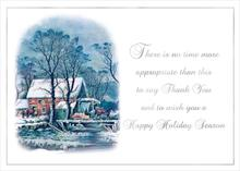 A Currier & Ives Thank You