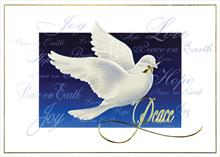 #6567<br>Dove of Peace &amp; HopeHoliday Peace Greeting Card