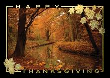 #6482<br>Autumn&#39;s GloryCorporate Thanksgiving Greeting