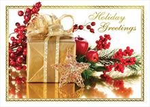#6312<br>Golden GiftHoliday Gift Card