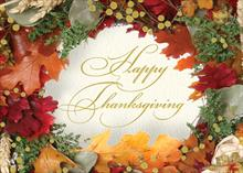 #6252<br>Autumnal DelightThanksgiving Greeting Card