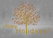Golden Holiday Wishes