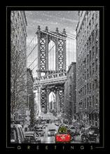 #6571<br>Greetings from BrooklynNew York City Christmas Card