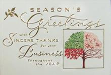#3452<br>Four Seasons Greeting