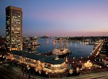 #3445<br>Twilight at the Inner Harbor
