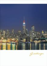 #0860<br>New York, New YorkCity Holiday Card