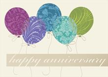 #5255<br>Anniversary Balloons